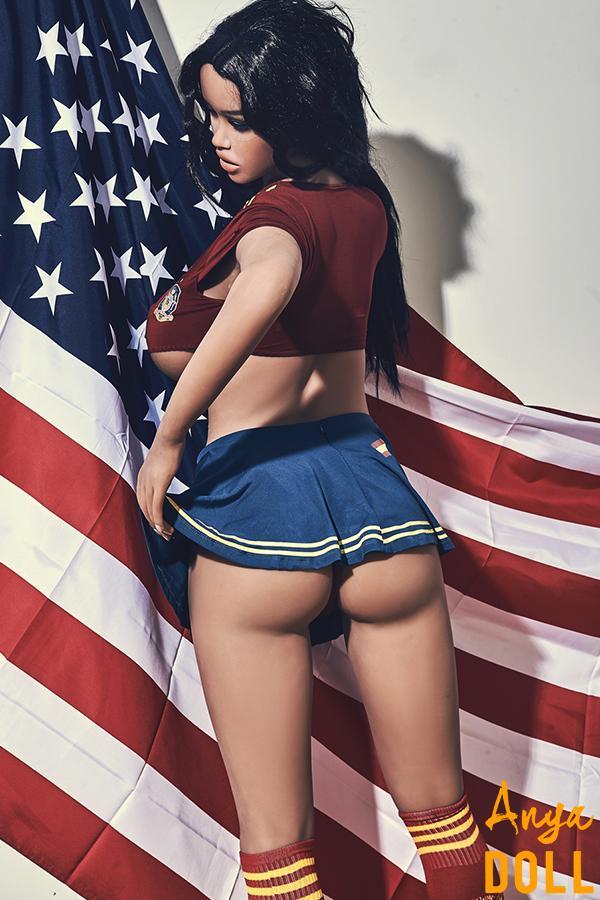 163cm American Big Tits Sex Love Doll Jane