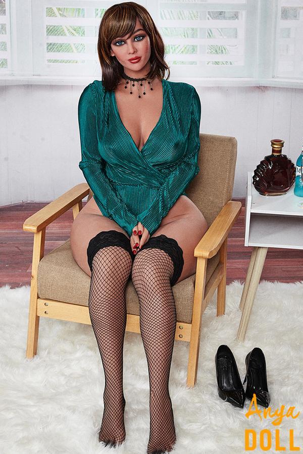 156cm Curvy Sex Doll Big Ass Connie