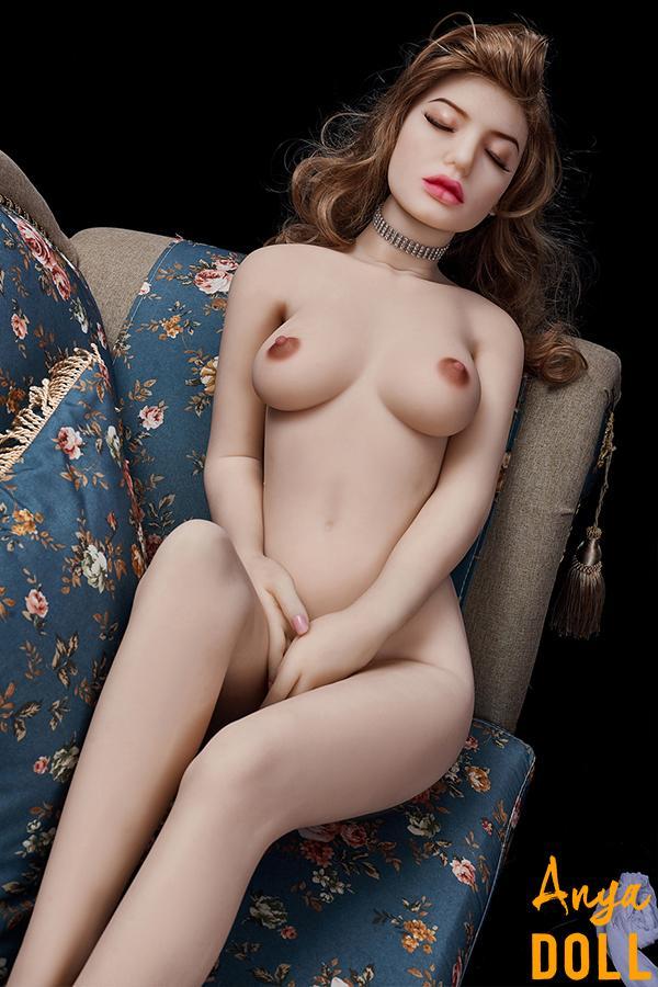 145cm Closed Eyes Small Breast Sex Doll Aurora