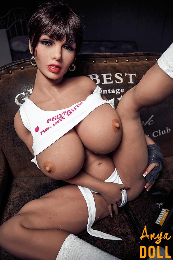 150cm Huge Tits Muscular Sex Doll Nicole