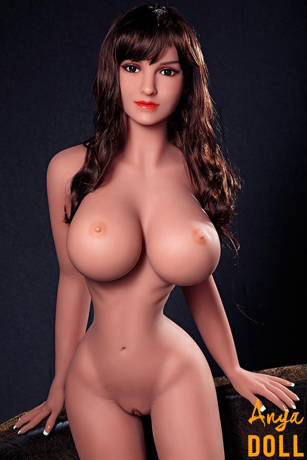 158cm Big Breast Slim Wasit Sex Doll Belinda