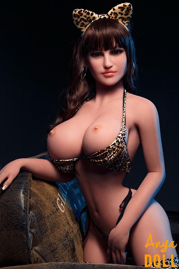 158cm Thin Waist Sex Doll Big Tits Gillian